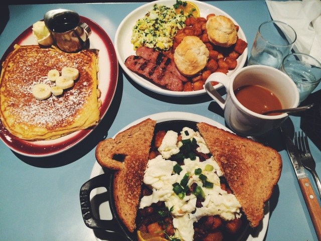 Brunch at Baby Barnabys