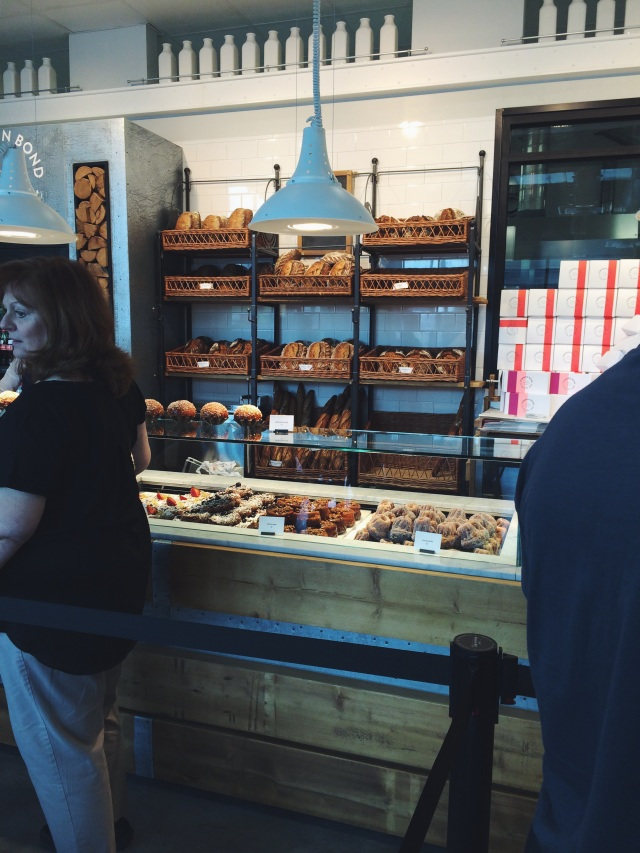 behind the counter at Common Bond