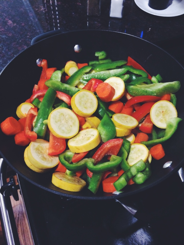 colorful cooking