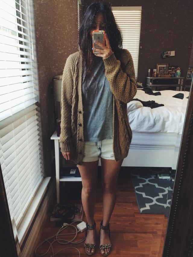 outfit of the day on Thursday
