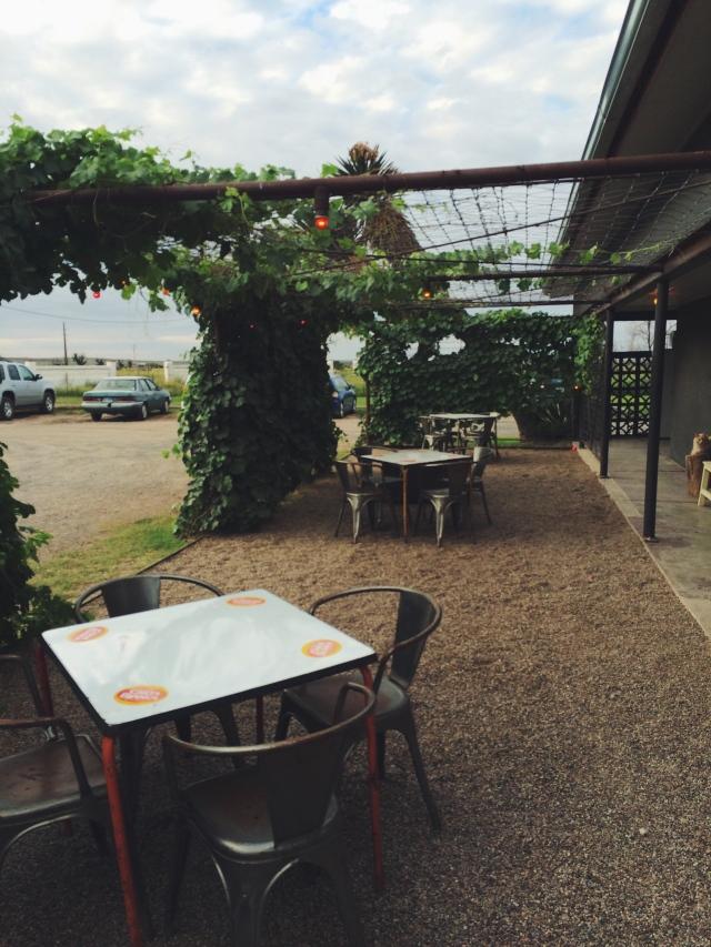 El Cosmico patio