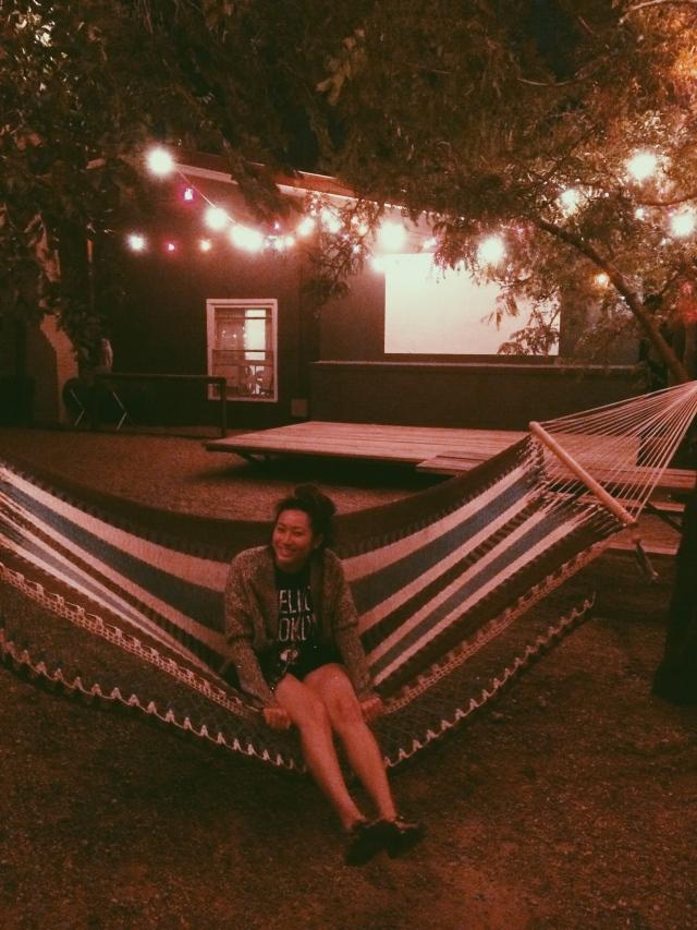 El Cosmico hammock