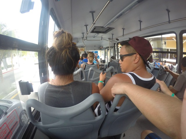 Cancun bus