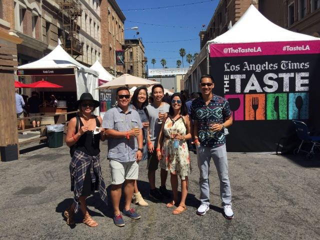 Taste LA friends