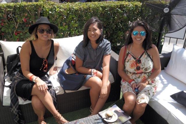 LA Times lounge